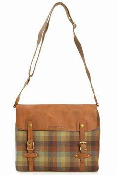 Pendleton messenger bag.