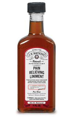 Pain Relieving Liniment | J.R. Watkins
