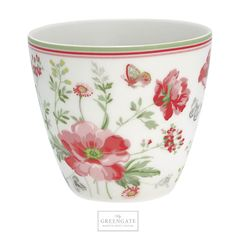 GreenGate Latte cup Meadow white SS18 #GreenGate #GreenGateOfficial