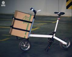 Trike Bicycle, Bicycle Safety, Bicycle Art, Motorcycle Bike, Mini Velo, Mini Bike, Velo Design, Bicycle Design, Electric Cargo Bike