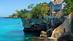 Caribbean paradise! The dreamy waters of The Caves in Negril, Jamaica.
