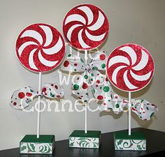 These are so cute. i have way too many Christmas crafts already. I also LOVE The Wood Connection... its my favorite store
