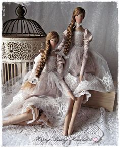 Handmade Gifts for You and Your Loved once by HappyBunnyHandmadeHere's a pic of all four of the dolls that I've been workin Doll Crafts, Diy Doll, Doll Home, Doll Tutorial, Skirt Tutorial, Sewing Dolls, Soft Dolls, Beautiful Dolls, Beautiful Beautiful