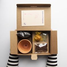Offer your employees, people, and users the popularity they warrant! with the use of company gifts. Seed Packaging, Flower Packaging, Brand Packaging, Product Packaging, Craft Kits, Diy Kits, Diy Birthday Gifts For Him, Wine Gift Baskets, Basket Gift