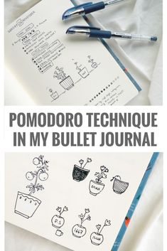 The productivity booster that's the Pomodoro technique and how I use it in my bullet journal. These sessions of focused work help so much with structuring my day as a self-employed artist!