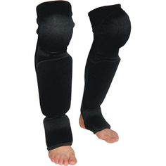 MMA Protective Gear:     Shin Guard With Knee Pad