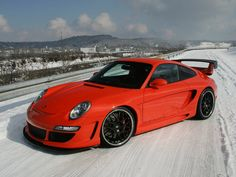Porsche 911....lookin damn good in red if I do say so myself.