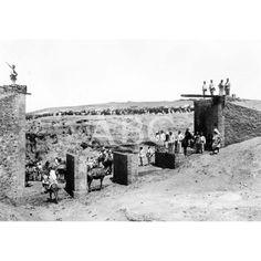 01/05/1912DE LA CAMPAÑA ACTUAL EN EL RIF. PUENTE DE LA AGUADA DEL HARCHA, QUEMADO EL DÍA 11 POR LOS HARQUEÑOS: Descarga y compra fotografías históricas en   abcfoto.abc.es