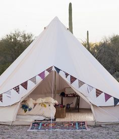 Stout Tent's Bell Tent - 16.4 Ft (5M) size. I said I'd never camp in atent again. This could change my mind.