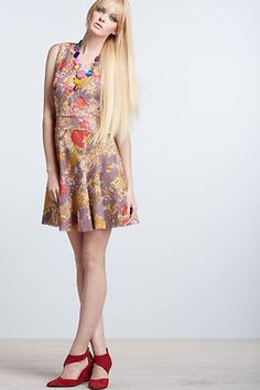 NWT $288 Anthropologie Smoky Lilies Lace Dress Gregory by Gregory Parkinson