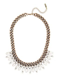 Crystal Ray Collar Necklace by Baublebar