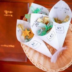 【結婚式レポ】星に願いを☆キラキラ星が輝くナチュラルウェディング