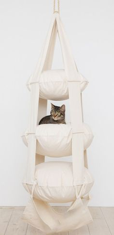 The Cat's Trapeze by Esther van der Wurff // Um... wow! #productdesign