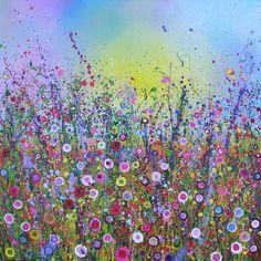 Love Sparkles Yvonne Coomber Oil on Canvas 2008