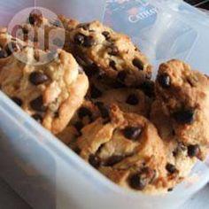 Photo de recette : Biscuits au yogourt et aux pépites de chocolat