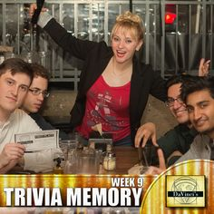 Do you have what it takes to come in 1st place?  Sign up today and show us what you're made of http://davincisdelivers.com/trivia-signup/