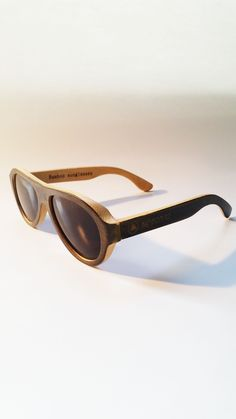 a1e2ebab1b Pilot Bamboos - Handmade bamboo sunglasses with a gorgeous black white look  for the kind of person who wants to look sharp for every occasion.