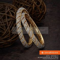Checkout this new gold and diamond bangles which could possibly will become the…