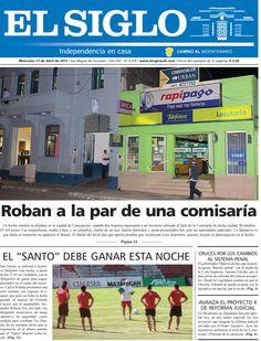Diario El Siglo - Miércoles 17 de Abril de 2013