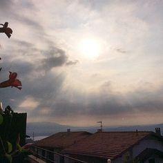 Prime luci del mattino da #Nebbiuno (grazie a Rosanna Mismasi per la condivisione)