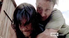 """The Walking Dead 5x12 """"Remember"""" Rick Grimes and Daryl Dixon"""
