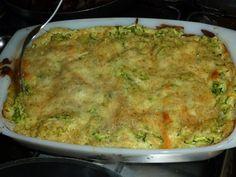 Zucchini lasagna with ricotta and pesto...yum!