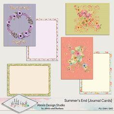 Summer's End - Journal Pocket Cards