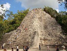 Las ruinas mayas de Tulum Cobá