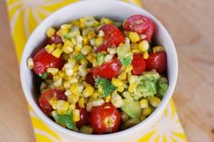 Grilled Corn and Avocado Salad by fakeginger, (2 Avocados made it perfect)