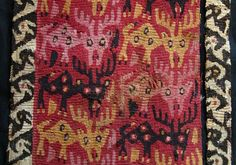 Chancay tapestry Tapestry with deer, Chancay 1000-1450 A.D. By Lombards Museum (Own work) [GFDLor CC-BY-3.0], via Wikimedia Commons