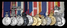 Group of twelve awarded to Frederick Lowes, Groom Porter to Queen Victoria and Principal Gentleman Porter to King George V