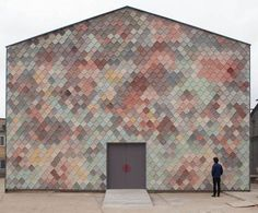 Yardhouse by Turner Prize-winning architecture collective Assemble. Photo: Supplied In a move hailed by many, yet which left others perplexed, rambling London architecture firm Assemble has been ju… Architecture Renovation, Architecture Design, Concrete Architecture, Assemble Architects, Hangar En Kit, Isolation Facade, Studio Build, Concrete Tiles, Design Inspiration