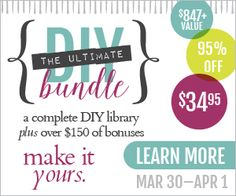 This ebook bundle from Ultimate Bundles will put you well on your way to becoming the best DIY crafter you know! From home and garden to sewing this bundle has it all! Diy Ebooks, Cooking With Coconut Oil, Natural Sunscreen, Thing 1, Faux Stained Glass, Feeling Overwhelmed, So Little Time, Diy Clothes, Frugal