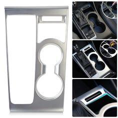 DWCX Car Decoration Interior Front Garnish Drink Water Cup Holder Matt Cover Shift Gear Panel Trim for AT Hyundai Tucson 2016 #Affiliate