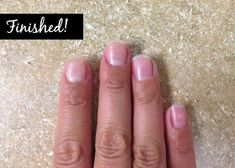 How to take acrylic nails off at home