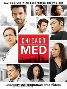 The doors of #ChicagoMed open again September 22 at 9/8c. We'll see you there.