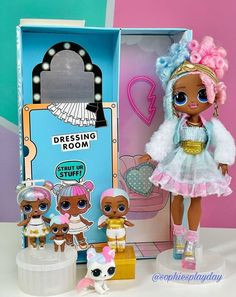 Little Girl Toys, Baby Girl Toys, Toys For Girls, My Mini Mixieqs, Barbie Chelsea Doll, Ribbon Embroidery Tutorial, My Little Pony Drawing, Minion Party, Anime Dolls