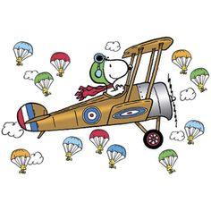 Flying Ace Snoopy Bulletin Board Set