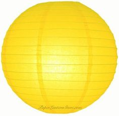 "4"" Yellow Even Ribbing Round Paper Lantern (10 Pack) by Asian Import Store, Inc.. $5.50. (All lanterns sold without lighting, lighting options must be purchased separately). Sold in packs of 10 Paper Lanterns.. Round paper lanterns with a even wire ribbing and held open with a wire expander.. Dimensions: 4"" dia. Round paper lanterns with a even wire ribbing. Lantern is held open with a wire expander. Sold in packs of 10. So, if you purchase 2 of this item, you ar..."