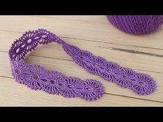 Crochet Lace Edging, Irish Crochet, Crochet Patterns, Heart Patterns, Crochet Clothes, Crochet Earrings, Stitch, Sewing, Jewelry