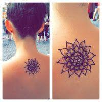 sunflower henna