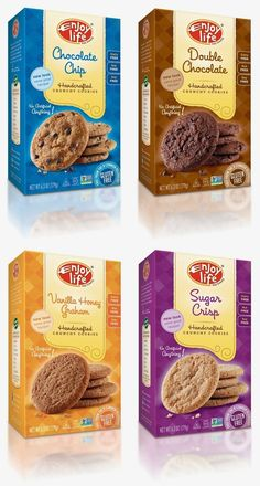 Plus amazing gluten-free, dairy-free cookie recipes. Spices Packaging, Cake Packaging, Food Packaging Design, Coffee Packaging, Bottle Packaging, Food Design, Design Design, Graphic Design, Biscuits Packaging