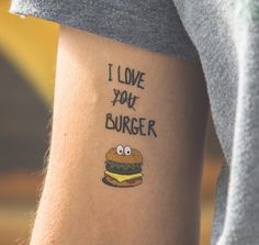 I love burger Saint-Valentin