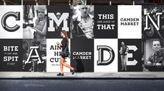Saved by MindSpárkle Magazine (mindsparklemagazine). Discover more of the best Design, Camden, Branding, Corporate, and Black inspiration on Designspiration Camden, Hoarding Design, Alsace Lorraine, Monospace, Billboard Design, Web Design, Graphic Design, Brand Design, Graphic Wall