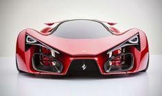 Idem para naves Designer cria conceito de Ferrari futurista - carros - Jornal do Carro