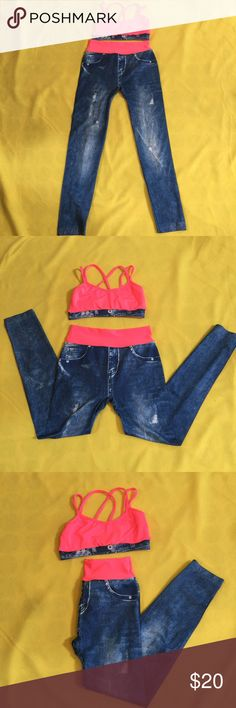 ⭐️Workout 2pc set⭐️ Very cute workout outfit size small Other