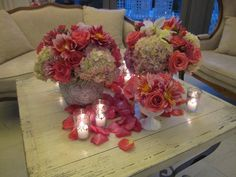 Great coffee table centerpieces