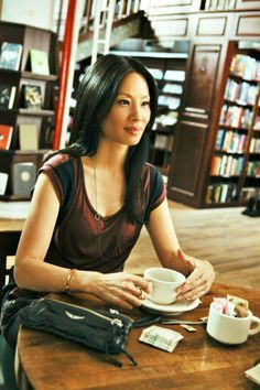 "Lucy Liu as Dr. Joan Watson, ""Elementary"" (CBS) --- You know what, as long as Sherlock and Watson are just friends, I have no problem with Watson being a woman. Lucy Liu Elementary, Elementary Tv Show, Elementary My Dear Watson, Holmes Elementary, Sherlock Holmes, The Bright Sessions, Jonny Lee Miller, Chantal, Celebrities"