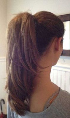 long straight layered hair from the back - Google Search