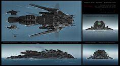 The Battleship Concept Arts | CG Daily news